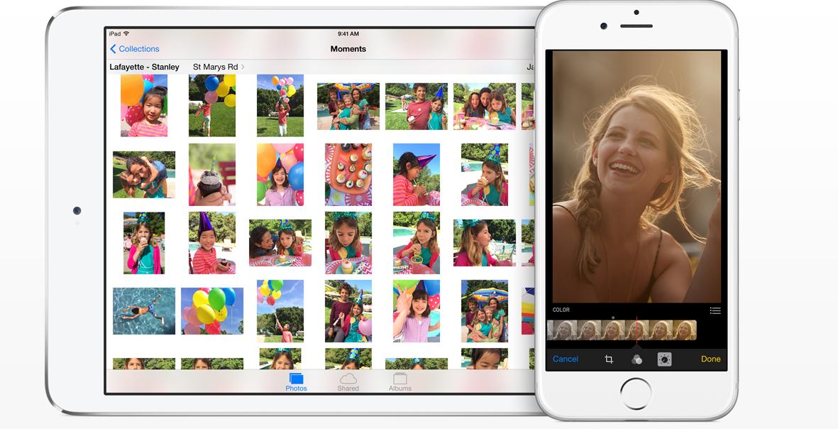 iOS 8 photo collection