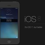 Apple iOS 8 logo
