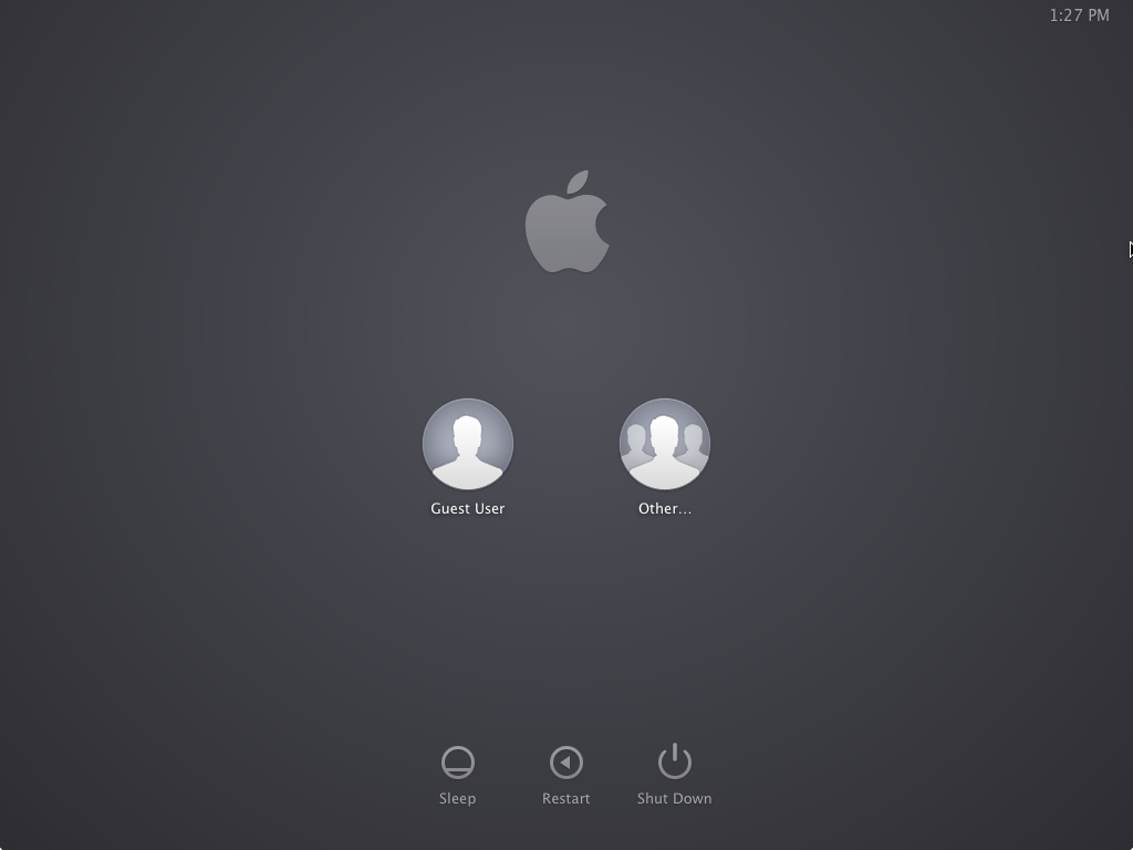 """How to disable that """"Guest User"""" from appearing at the OS X login screen"""