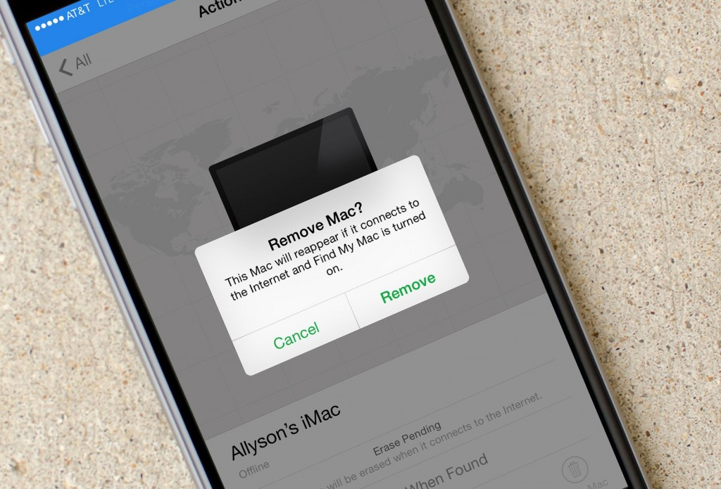 How to remove idevices or Mac from find my iPhone and iCloud