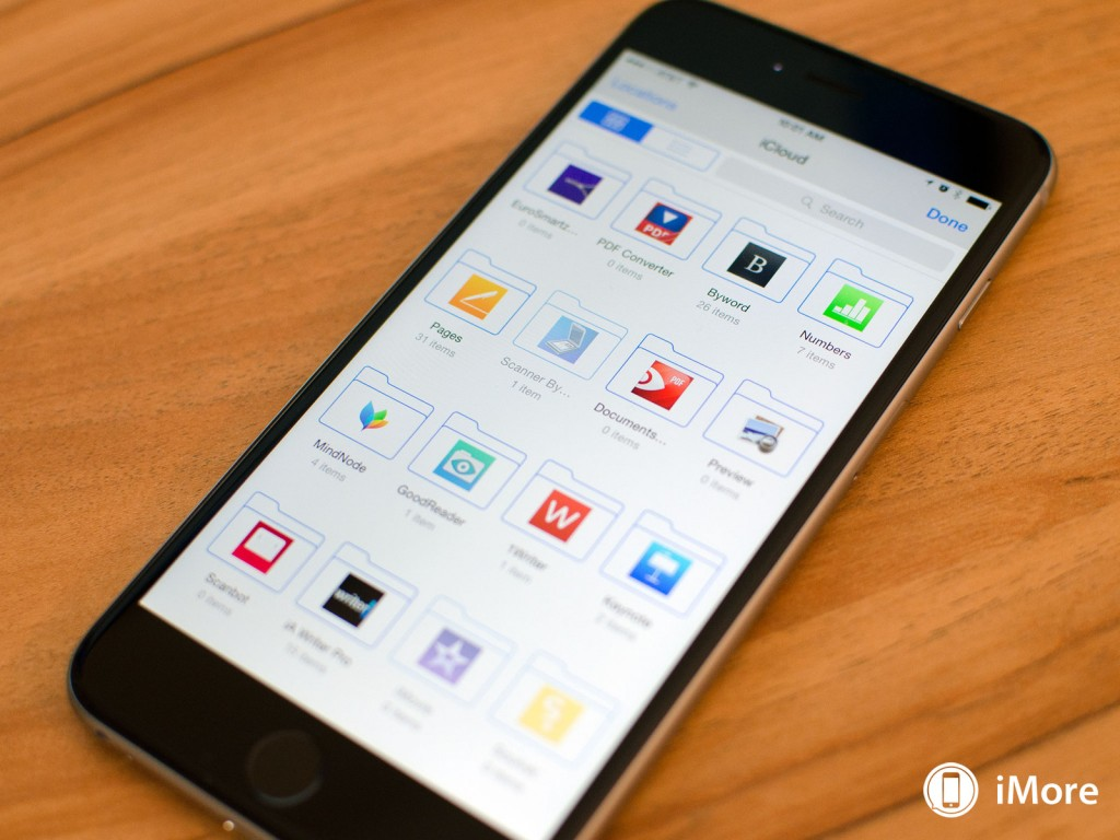 How to control apps which have access to iCloud drive