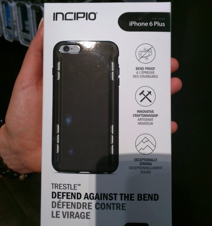 the first iphone incipio announces trestle cases for iphone 6 plus the 1628