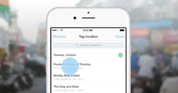 Twitter allows specific location tagging with help of Foursquare