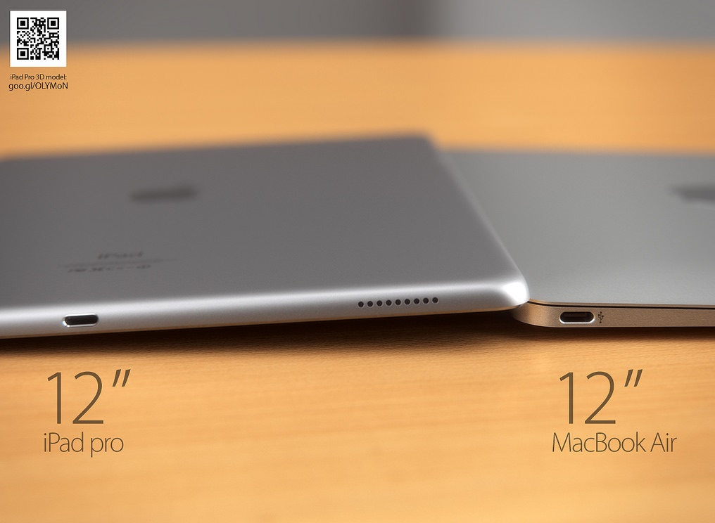 iPad Pro 12.9 inch debuting in 2016
