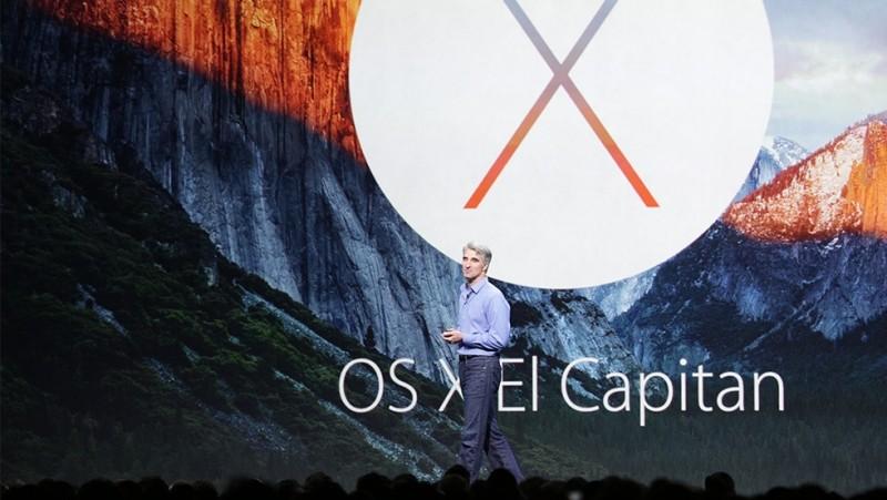 Apple announced OS X 10.11.EI capitan at WWDC