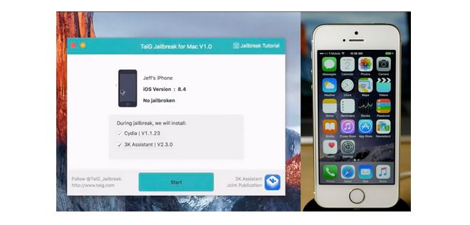 How to jaibreak iOS 8.4 on Mac with TaiG