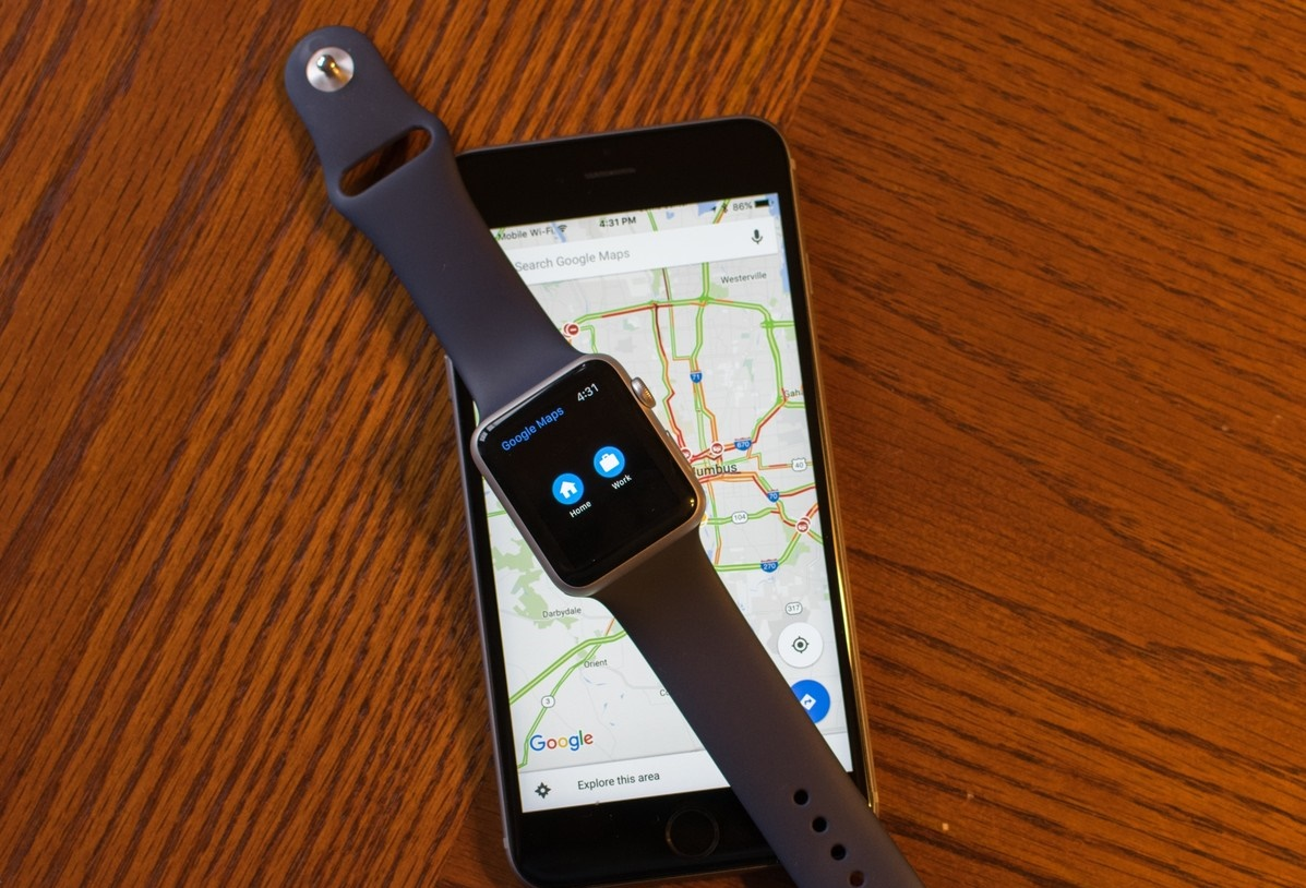 Google Maps Gets Update And Supports Apple Watch