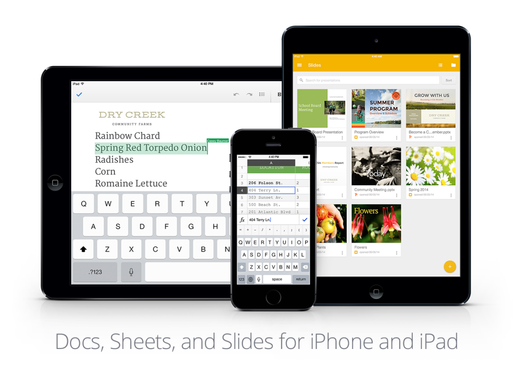 Google Slides, Docs, sheets gets updated for iOS - The iBulletin