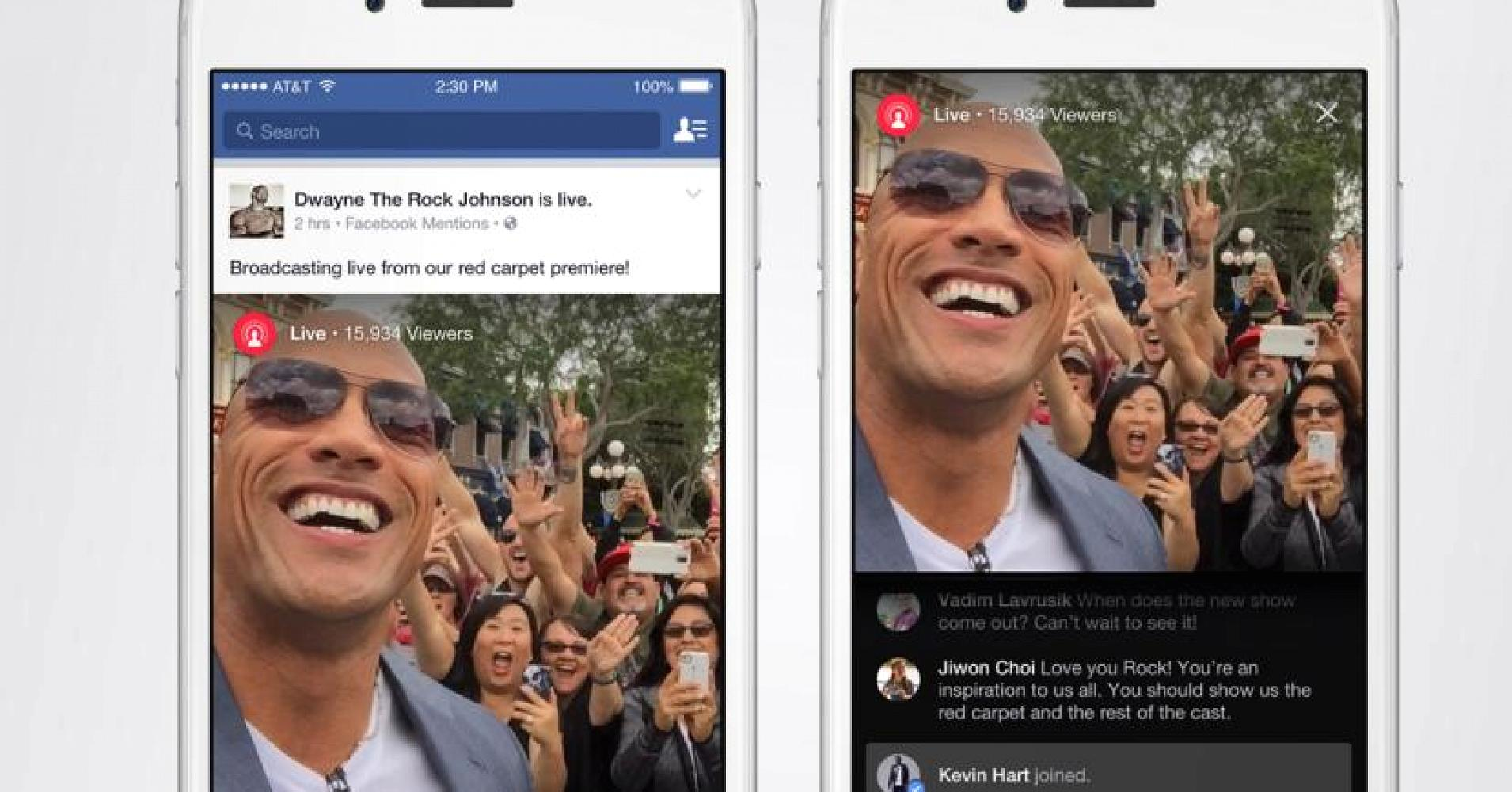 Facebook opens Live Videos to iPhone users in United States