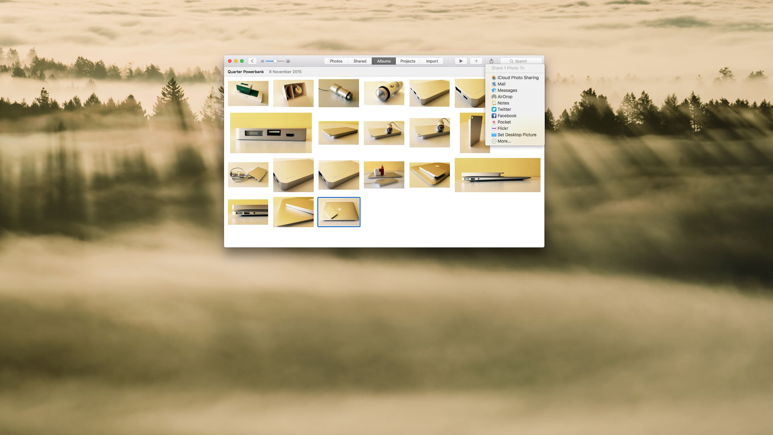 rn photos for os x how to set image