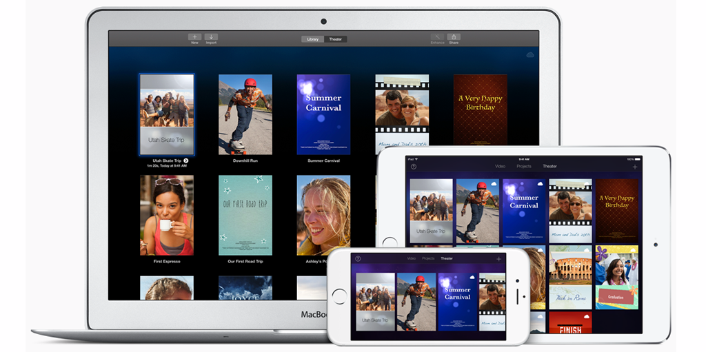 iMovie for Mac gets updated to version 10.1.1