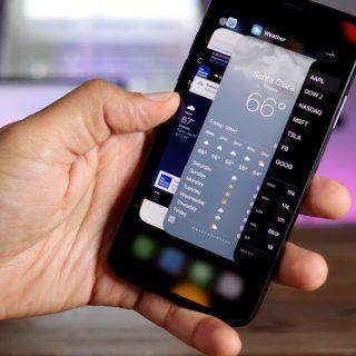 app switcher on iPhone x