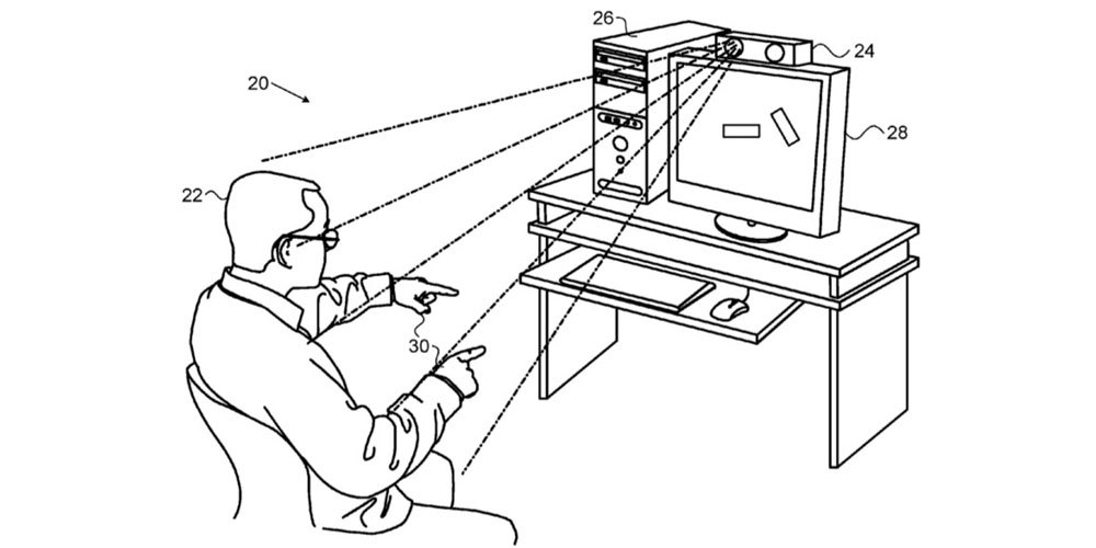 apple gesture Mac patent