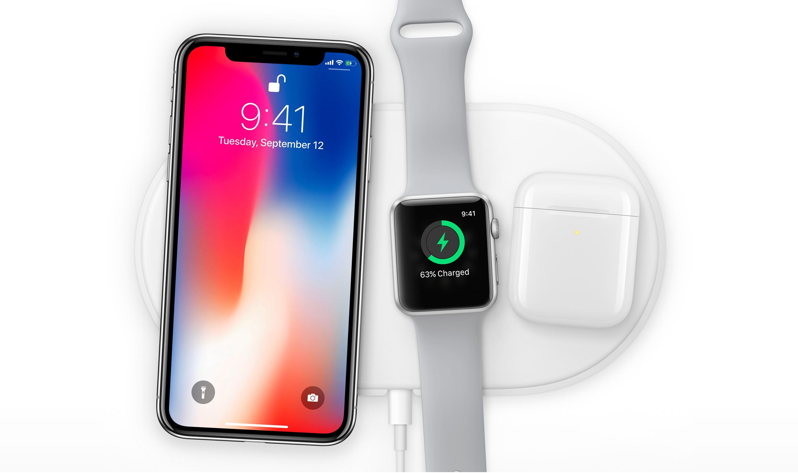 Apple watch with iPhone X