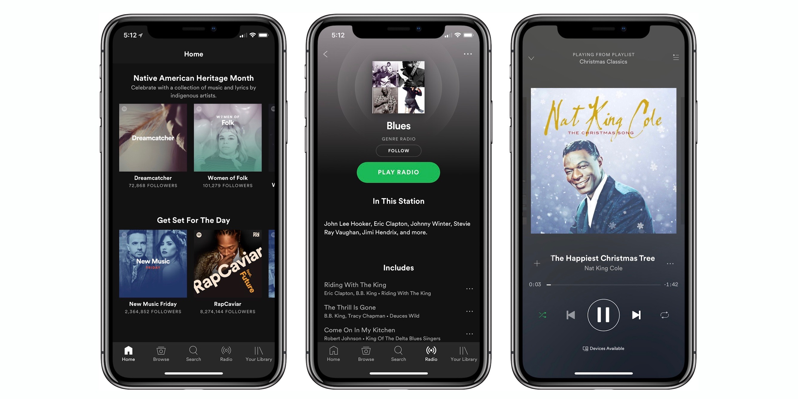 Spotify for iPhone X