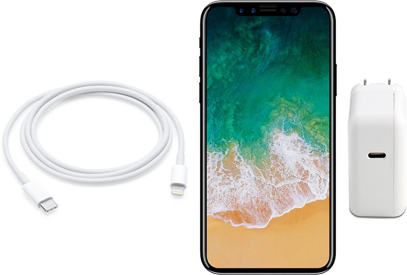 buy popular b4de2 686d2 How to enable fast charging on Apple iPhone X, iPhone 8, and iPhone ...