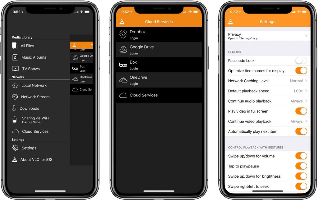 VLC Player for iOS updated with support for iPhone X, HEVC 4K video