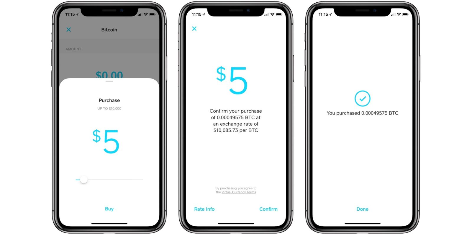 Square cash now allows anyone to buy and sell bitcoin iphone users can now buy sell trade bitcoin with square cash ccuart Image collections