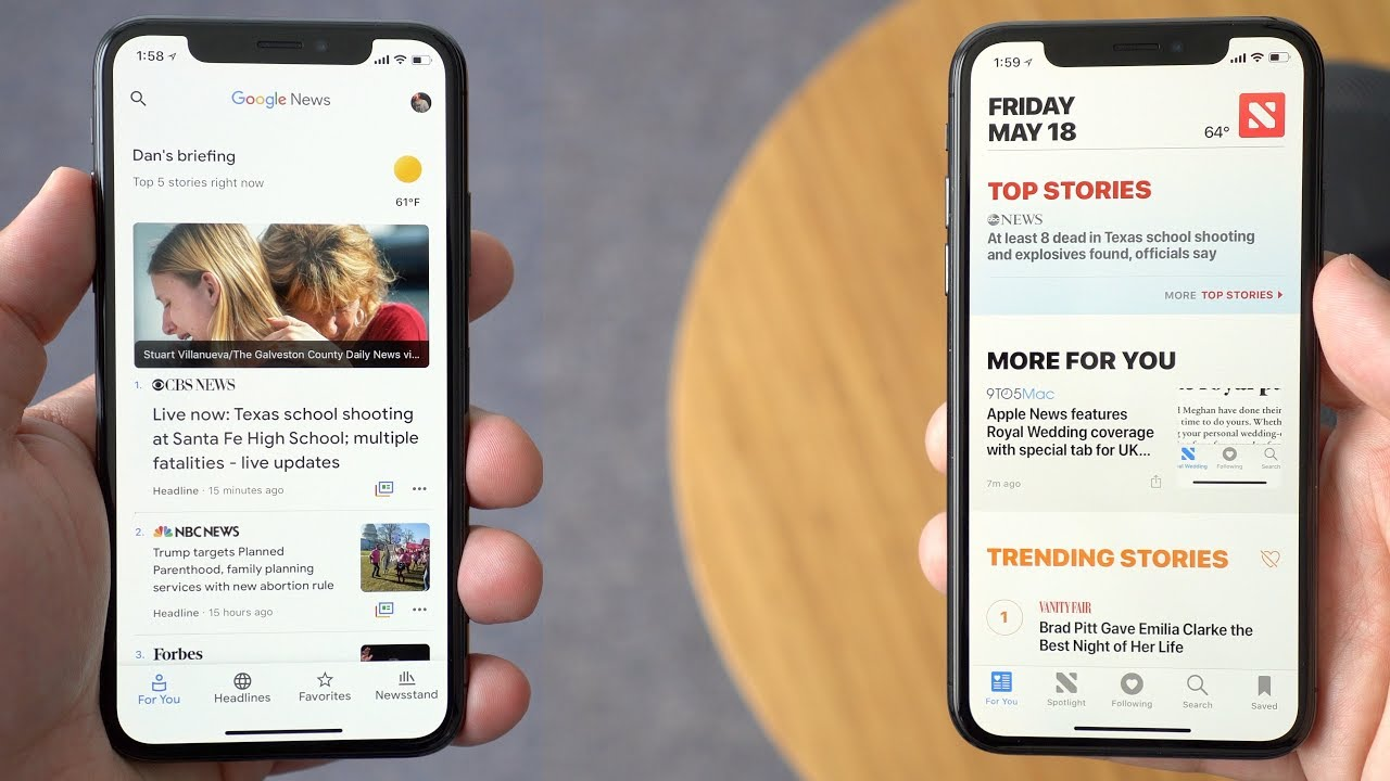 Google News vs Apple News : Best choice for Apple users?