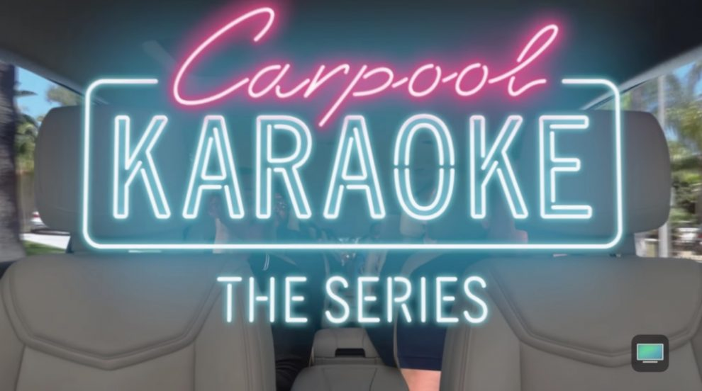 Apple Making Carpool Karaoke Available for Free in TV App