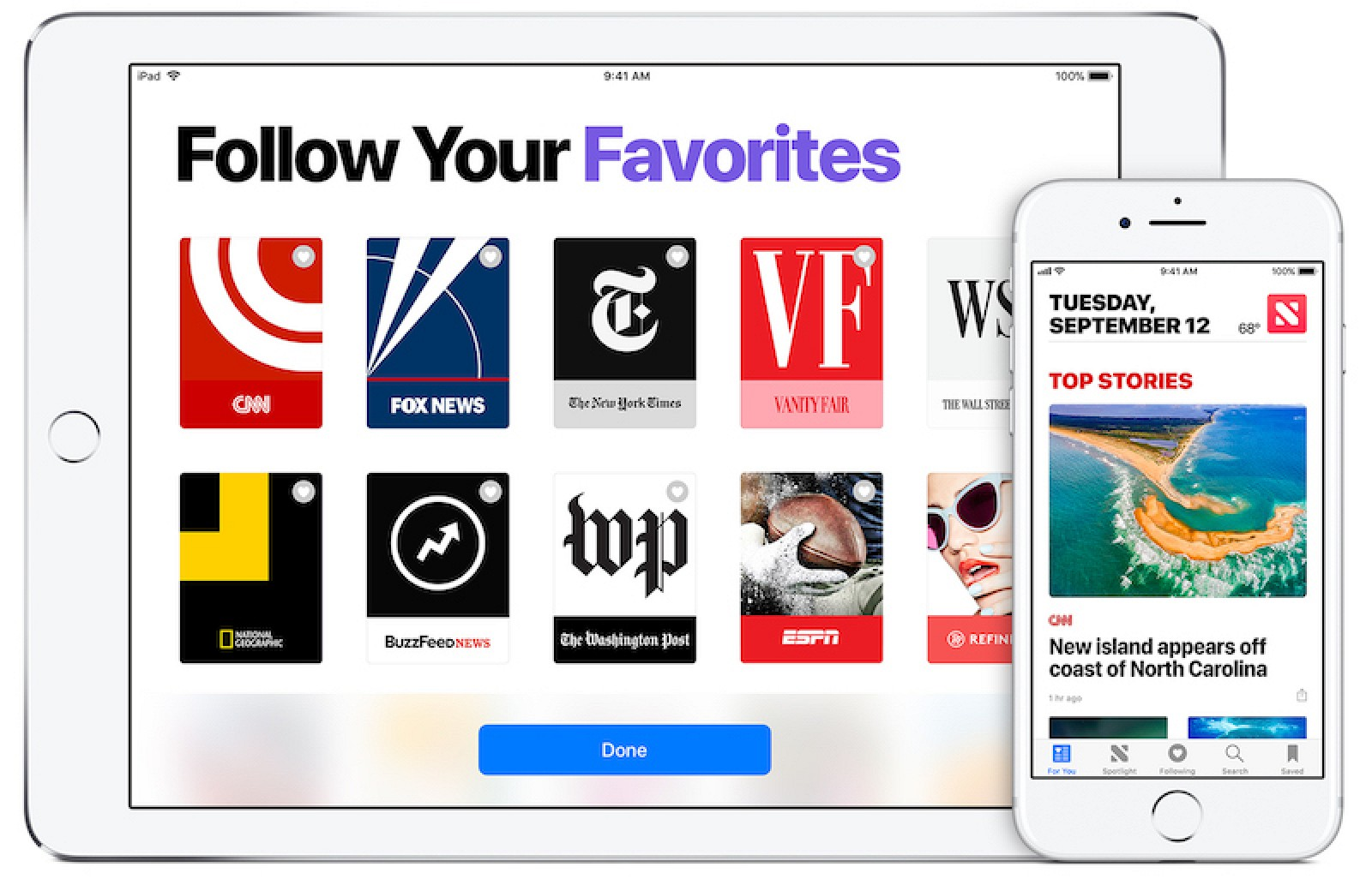 Apple wants to expand in the digital news platform