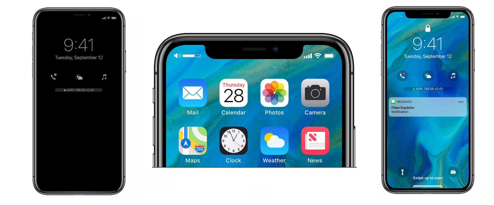 iOS12 concept by iHelp BR