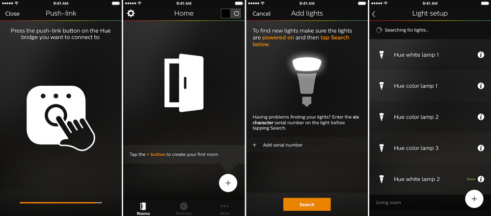 philips hue app gets an update that would make it easily usable the ibulletin. Black Bedroom Furniture Sets. Home Design Ideas