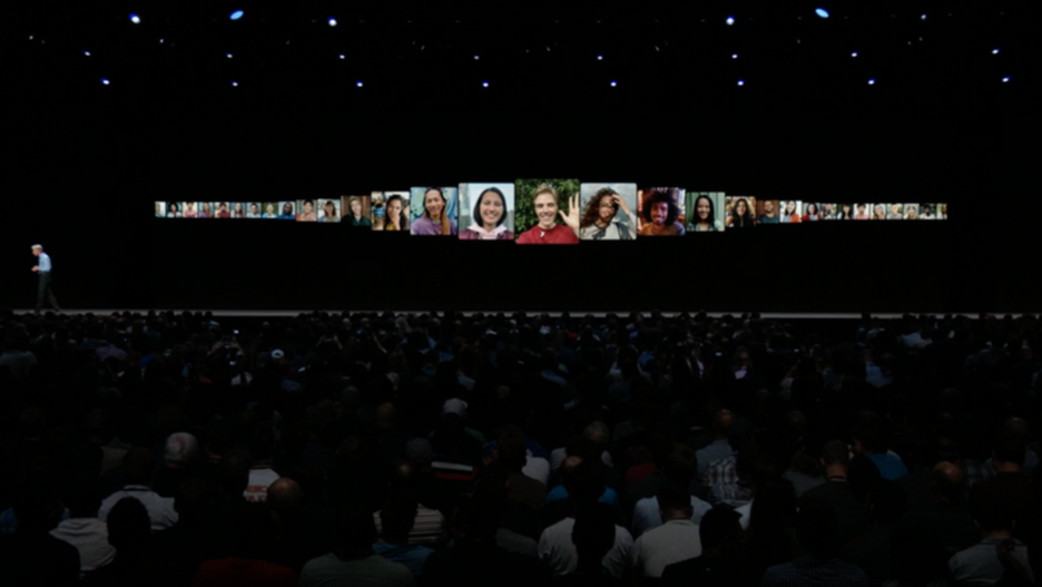facetime on iOS 12