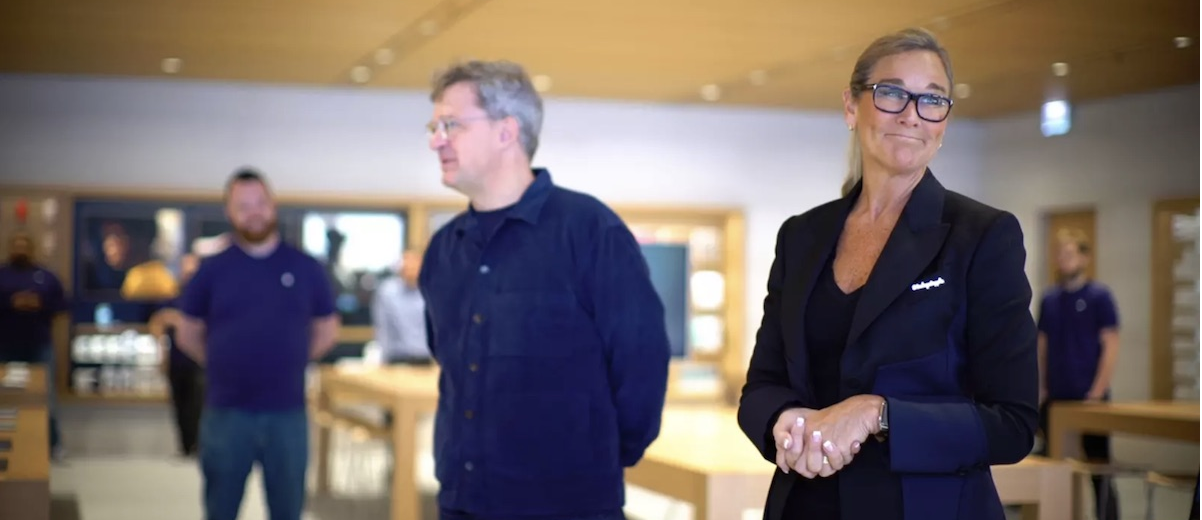 Apple retail head talks at Cannes