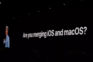 Craig Federighi talks about app merger