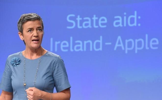Apple Pays Ireland record shattering $15 Billion lump sum to settle tax dispute.