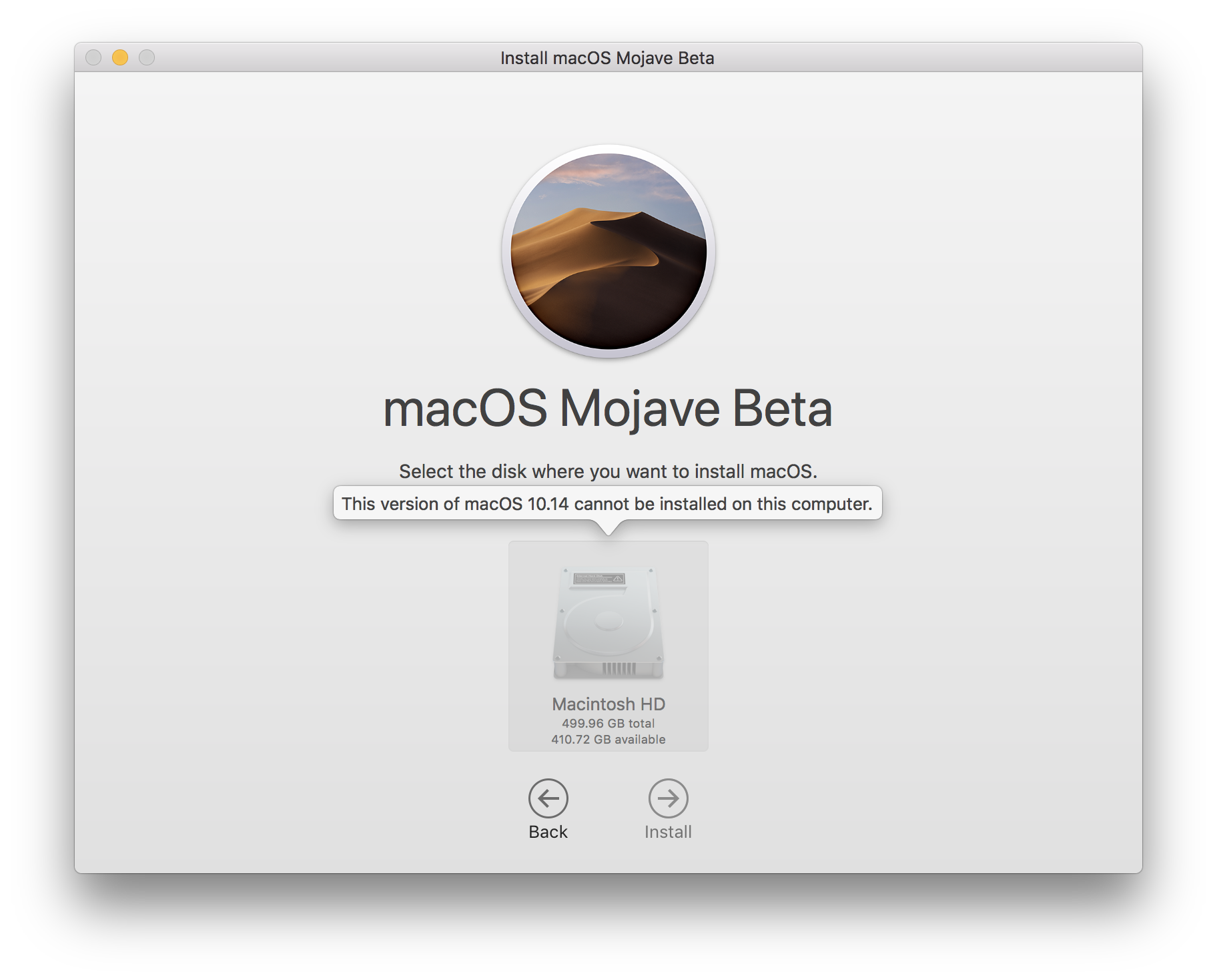 Few '2018 MacBook Pro' owners are falling into errors while installing macOS Mojave