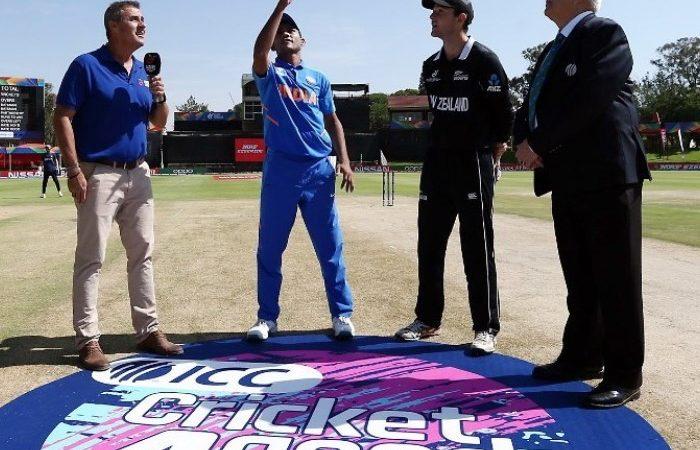 India Vs New Zealand ICC U-19 World Cup Match