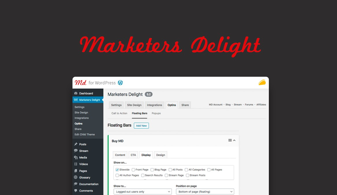 Marketers Delight