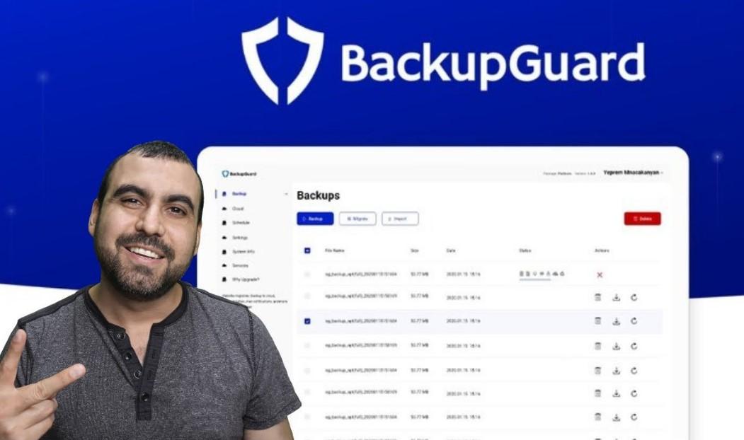 BackupGuard WordPress Plugin