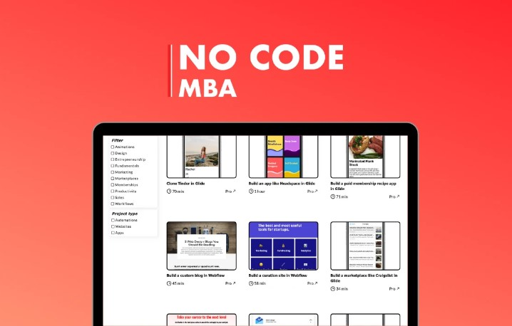 No Code MBA